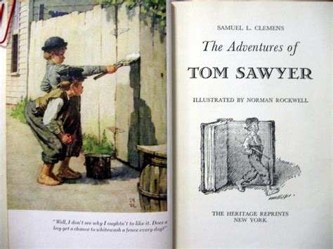 The Adventures Of Tom Sawyer By Samuel L Illustrated By