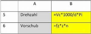Schnittgeschwindigkeit Berechnen Bohren : vorschub formel energie und baumaschinen ~ Themetempest.com Abrechnung