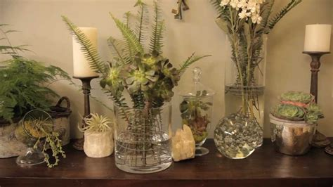 botanicals  create nature inspired plant centerpieces