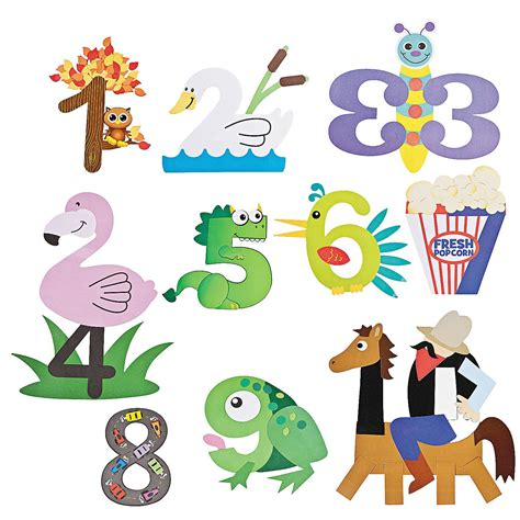 number craft kits orientaltrading early childhood 978 | a2838da672e67e0c36c6a71c51a1cfcd