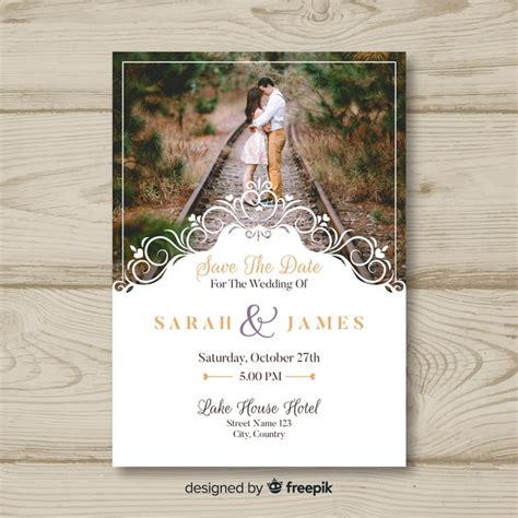 premium vector wedding invitation card  photo