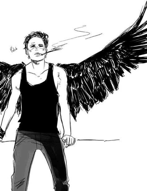 Fanart of Patch from The Hush Hush saga! It's really quick