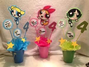 Powerpuff Girls Birthday Party Ideas