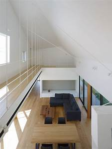 house in sanbonmatsu designed by hironaka ogawa With interior roof color ideas