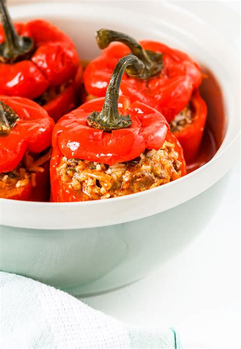 cooking light stuffed peppers ukrainian all beef stuffed peppers recipe healthy and