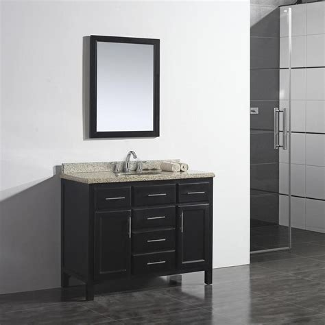ove decors malibu   dark espresso single sink bathroom