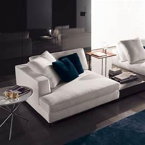 Minotti albers depth 134 sectional sofa contemporary for Sectional sofa depth
