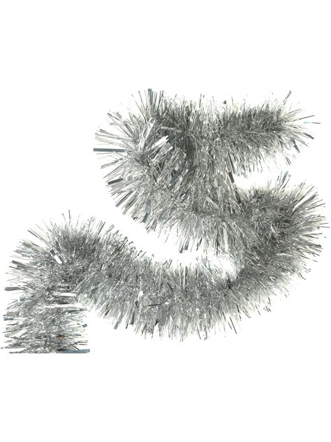 silver tinsel linea eclipse chunky silver classic tinsel review compare prices buy