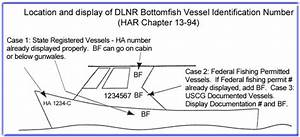 division of boating and ocean recreation bottomfish With uscg boat documentation