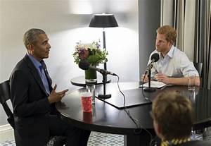 Prince Harry interviews Obama - Portland Press Herald