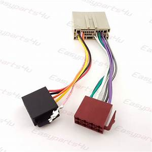 Ford Fiesta  Fusion  Expedition  Landrover Freelander Iso Lead Wiring Harness Radio Adaptor