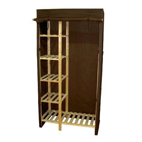 armoire penderie chambre armoire penderie alix chocolat achat vente armoire de
