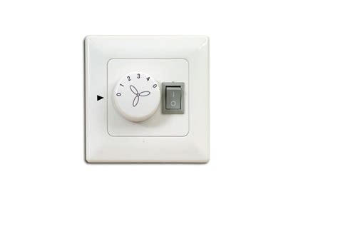 wall switch wall control for ceiling fans with lighting