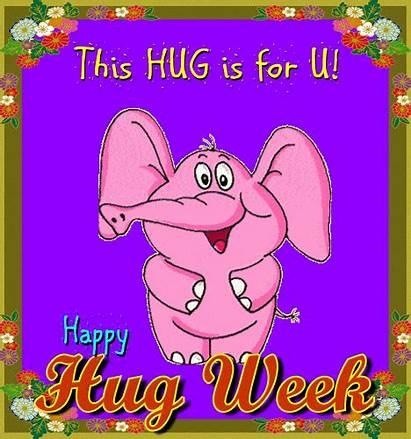 Hugs Happy Hug Week Greeting Card Greetings