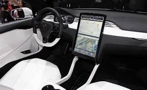 Tesla-Model-X-in-Geneva-2013-Interior.jpg (1024×624) (With images) | Car interior design, Tesla ...