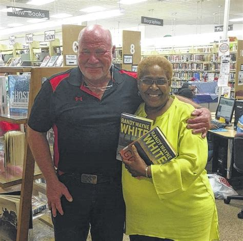 randy wayne rockingham selling books library author county richmond times signs york williams