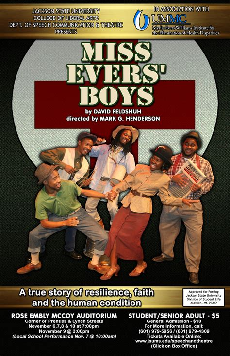 jackson state university theatre  evers boys