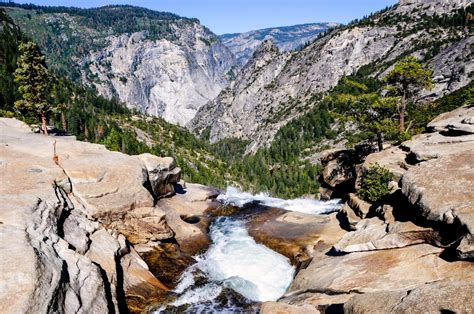 Top Nevada Falls Yosemite National Park