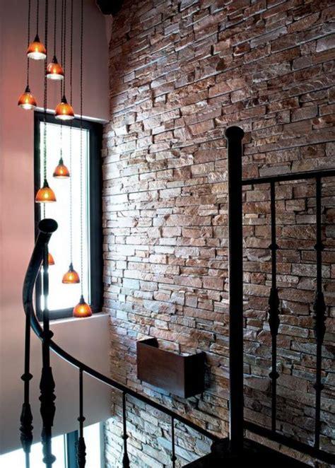 idee cuisine en u les briques de parement et les briques apparentes intérieurs à esprit loft