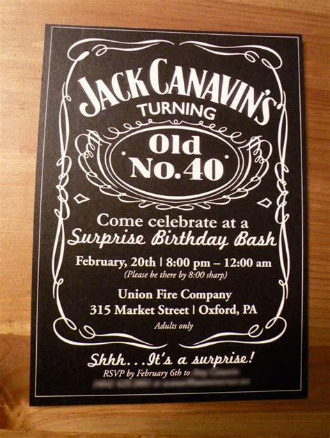 40th Birthday Invitations Ideas for Men Bagvania FREE