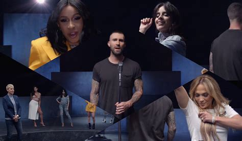 Cardi B, J.lo, & Mary J. Blige Join Maroon 5 In 'girls