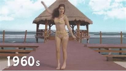 Bikini 1960s Evolution Amanda Cerny Bikinis 60s