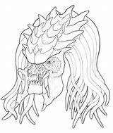 Predator Coloring Alien Pages Vs Nashville Predators Cartoon Meteor Getcolorings Printable Aliens Sheets Getdrawings Colorings Cute Onlin Hockey sketch template