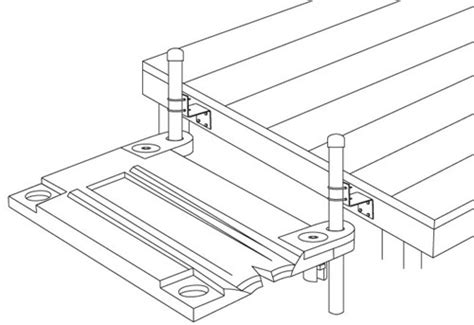Floating Boat Dock Parts by Floating Boat Dock Parts And Boat Dock Kits