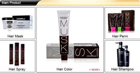 100ml Professional Permanent Salon Hair Color Dye Products