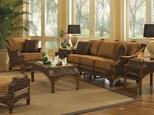 rattan dining room sets bamboo living room furniture With wicker rattan living room furniture