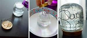 Fabriquer Boule à Neige Glycérine : diy une d co de table scintillante pour le nouvel an ~ Zukunftsfamilie.com Idées de Décoration