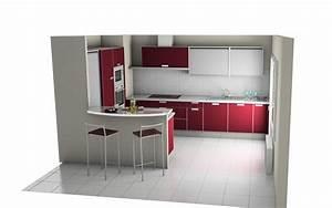 dessin cuisine 3d dcoration comptoir de cuisine pas cher With amenager sa cuisine en 3d gratuit