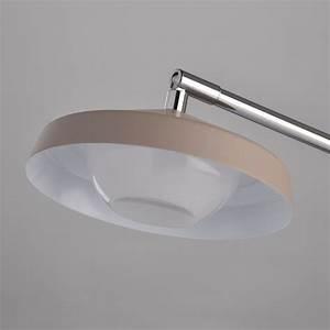 Lampe A Poser Led : lampe poser m tal led pura 64cm argent ~ Dailycaller-alerts.com Idées de Décoration