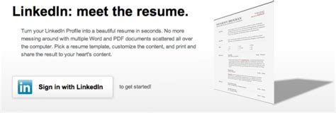 how to create a cv in 30 seconds using your linkedin profile socialtalent