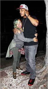 T.I. and his wife Tameka Cottle arrive at Madeo restaurant ...  Tiny