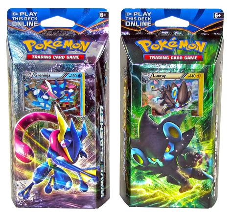 Pokemon Xy Breakpoint Theme Deck  Set Of 2  Da Card World