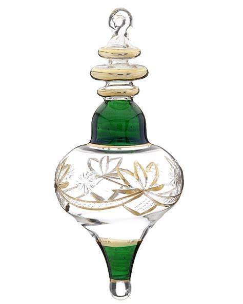 engraved glass with gold fill l shape christmas