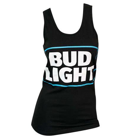 bud light tank top s bud light black tank top