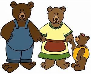 Goldilocks And The Three Bears Clipart - Cliparts.co