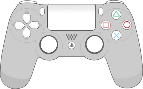 Ps4 Controller Diagram by Ps4 Controller Transparent Png Pictures Free Icons And