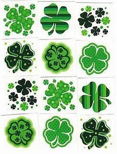 St. Patrick's Day Shamrock Temporary Tattoos on Sale ...