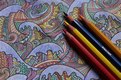 Coloring Books Are Perfect Gifts For Stressed-out Adults