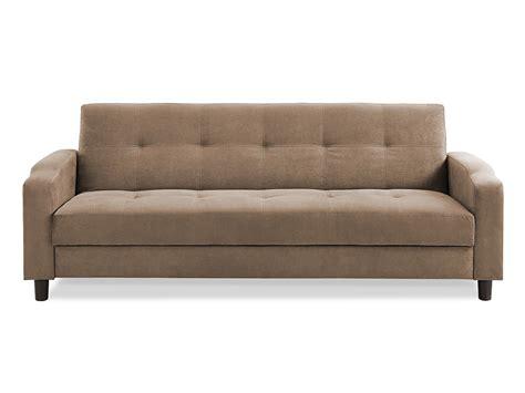 Sofa : Reno Convertible Sofa Light Brown By Serta / Lifestyle