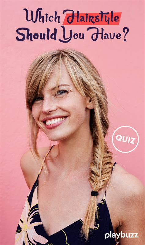 which hairstyle should you have fun personality quizzes