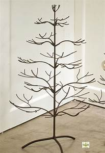 """Ornament Trees - Brown Natural 36"""", Ornament Display Trees"""