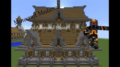 minecraft medieval advanced house tutorial part      build  medieval advanced