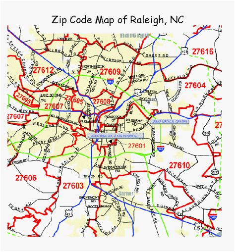 zip code maps free full color and printable