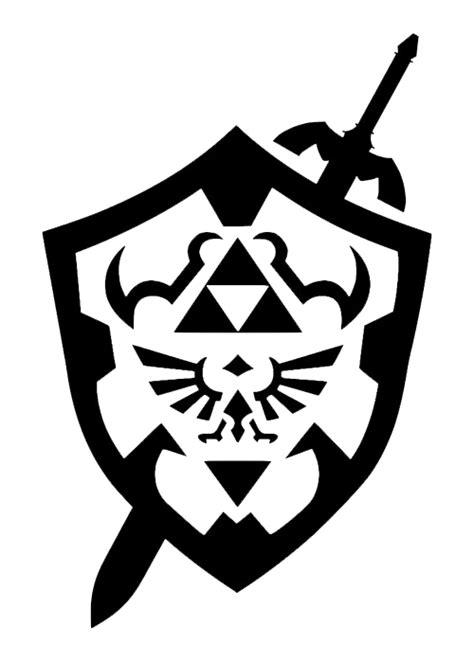 Doodlecraft: Legend of Zelda: Link's Hylian Shield Shirt!