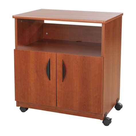 desk with printer cabinet black plastic under desk stand with caster wheels with