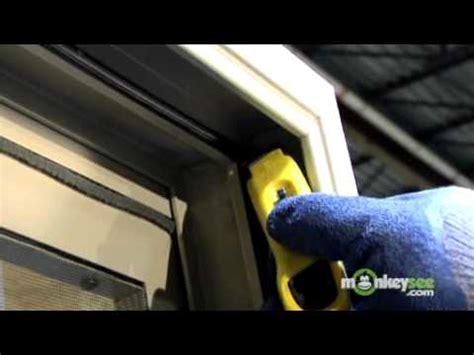 sliding door weather stripping replacing weather stripping in a sliding glass door